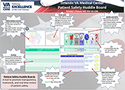 The Orlando Patient Safety Huddle Board