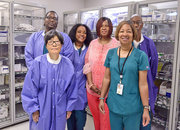 The Sterile Processing Service at the Central Alabama Veterans Healthcare System.